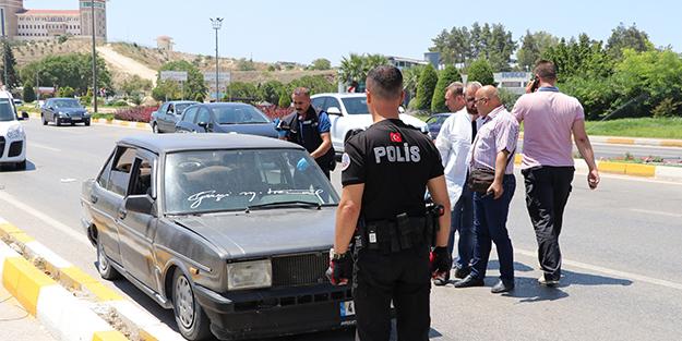 LAS VEGAS DEĞİL PAMUKKALE! KİMLİK İSTEYEN POLİSTEN KAÇINCA...