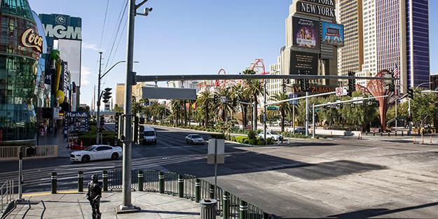 Las Vegas valisinden olay sözler! 'Burada yıllardır virüs var'