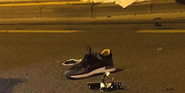 Lastik değiştiren kişilere otomobil çarptı! 2 ölü