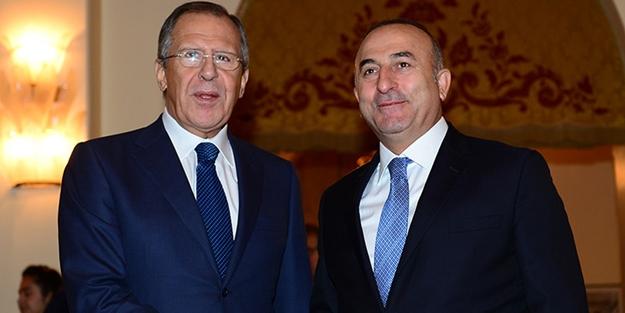 Lavrov ve Çavuşoğlu, Suriye'nin kuzeydoğusunu görüştü