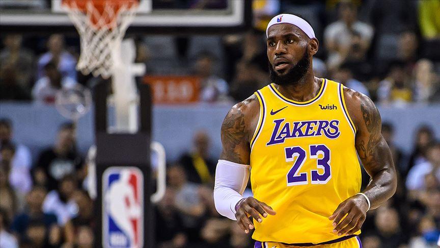 LeBron James NBA'de 33 bin sayıyı aşan 4. oyuncu oldu