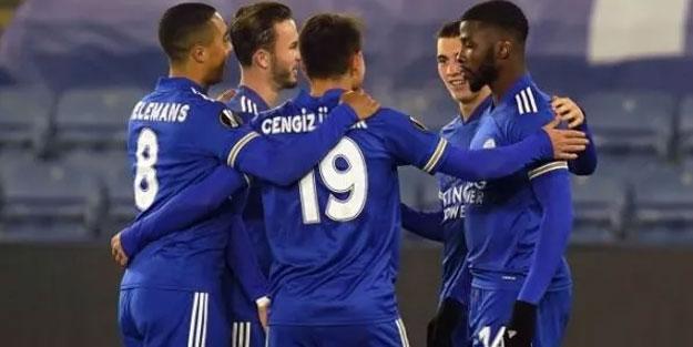 Leicester City sahasında Southampton'u rahat geçti