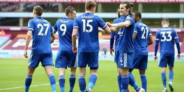 Leicester City zirve yarışına devam ediyor