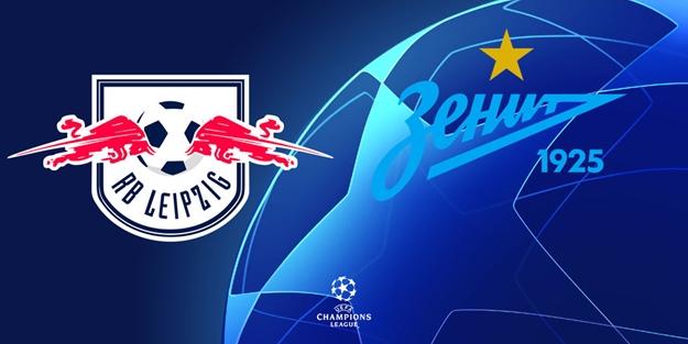 Leipzeig Zenit Şampiyonlar Ligi maçı saat kaçta hangi kanalda?