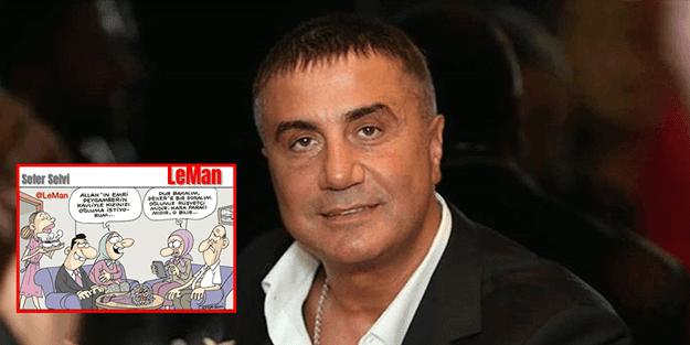 Leman Dergisi'nin yeni kılavuzu Sedat Peker!