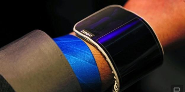 Lenovo'dan katlanabilir tablet ve akıllı telefon