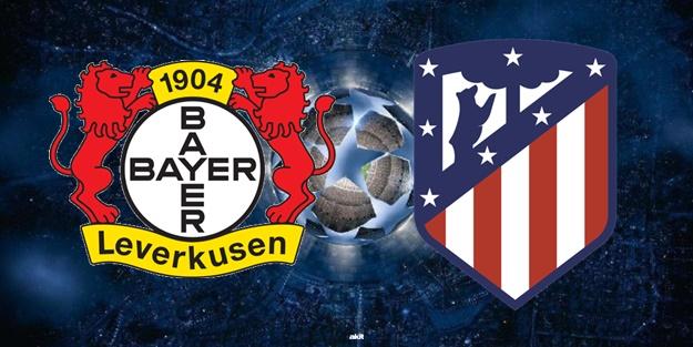 Leverkusen Atletico Madrid maçı ne zaman saat kaçta hangi kanalda?