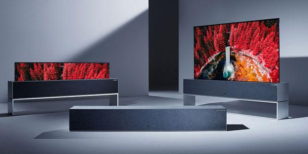 LG'nin katlanabilir televizyonu satışa çıktı