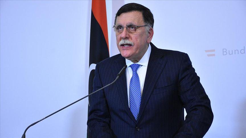 Libya Başbakanı Serrac, İtalyan enerji şirketi ENI yetkilileriyle görüştü