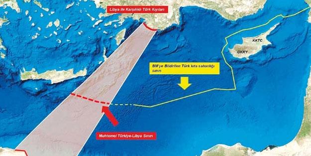 Libya ile yapılan tarihi anlaşma 4 ülkeye de emsal