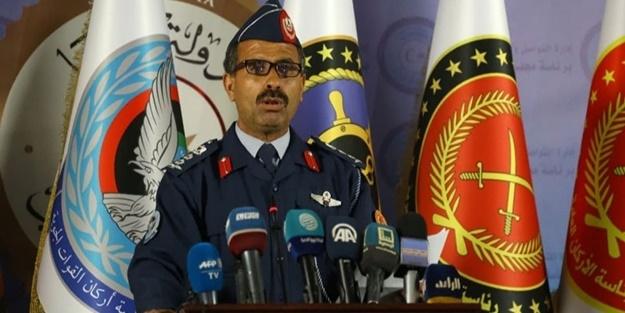 Libya Ordu Sözcüsü: Hafterci isyancıların köklerinin kazılması için talimat verdik