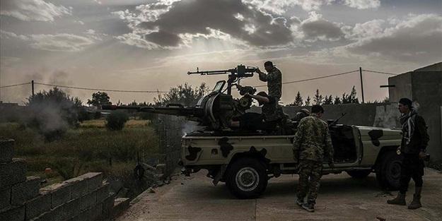 Libya ordusu Vatiyye Askeri Üssü'nde kontrolü sağladı