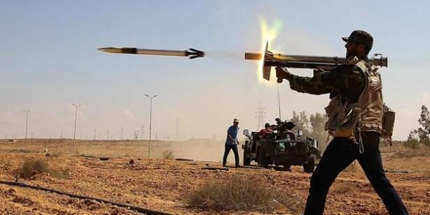 Libya son durum haritası 2020