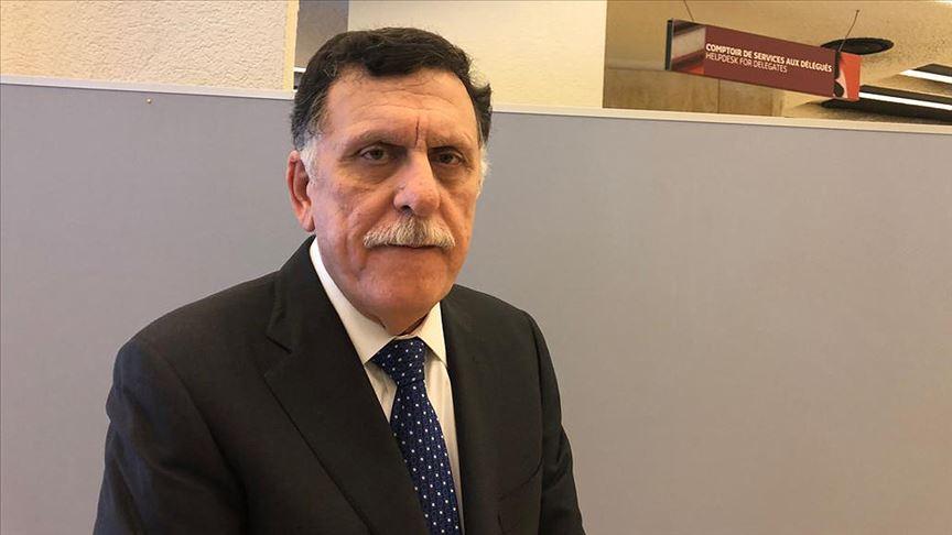 Libya Ulusal Mutabakat Hükümeti Başbakanı Serrac: Biz halkımızı saldırganlara karşı koruyoruz