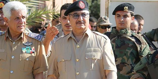 Libya'da darbeci Hafter'e ağır darbe!