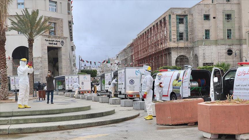 Libya'da koronavirüs nedeniyle sokağa çıkma yasağı günde 17 saate çıkarıldı