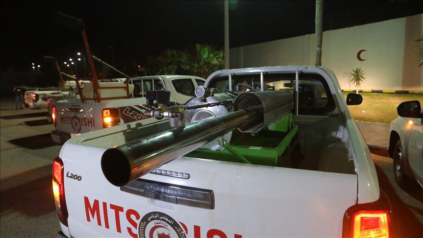 Libya'da koronavirüs önlemleri çerçevesinde gece sokağa çıkma yasağı ilan edildi