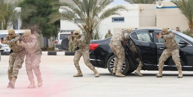 Libya'da TSK'nın eğittiği askerler göreve başladı!