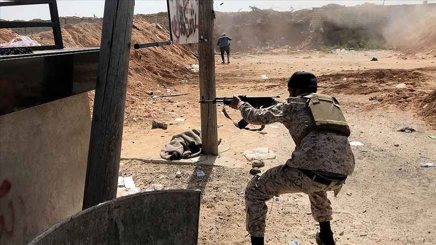 Libya'da UMH güçleri Hafter'in Trablus'un güneyindeki saldırısını püskürttü