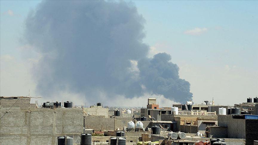 Libya'da UMH hava gücü Sirte'de Hafter'in operasyon merkezini vurdu
