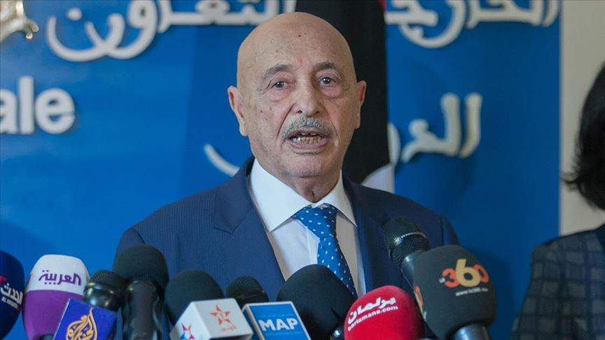 Libya'daki Hafter yanlısı Temsilciler Meclisi Başkanı Salih,