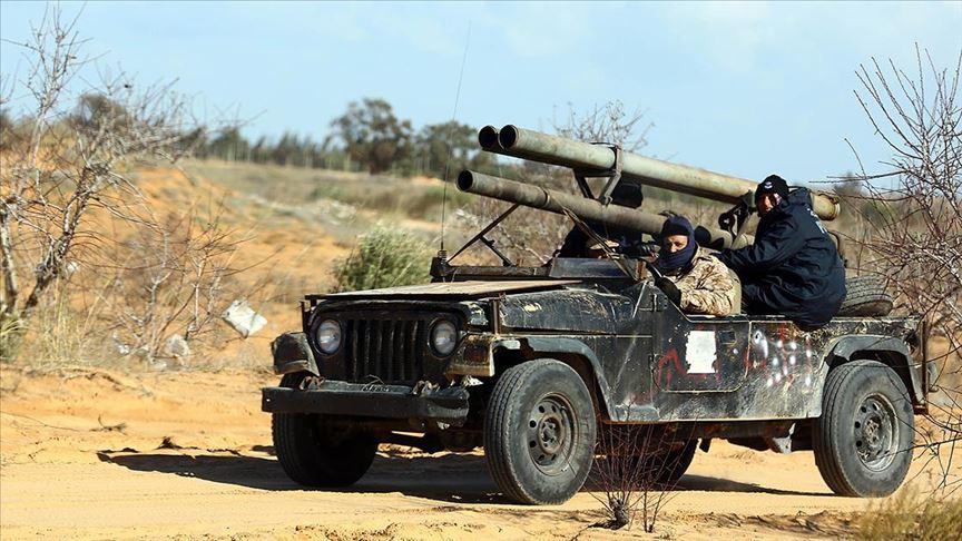 Libya'nın başkenti Trablus'ta Hafter'e bağlı 25 milis etkisiz hale getirildi