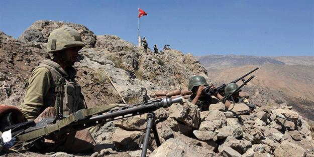 Lice'de asker fark etti, PKK'ya bir darbe daha