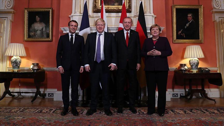 'Liderler terörün her türlüsüne karşı mücadelenin devamı konusunda anlaştı'
