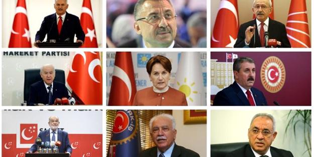 Kurban Bayramı'nda liderlerin programı belli oldu