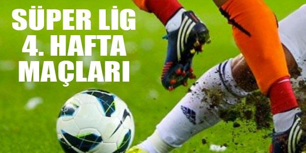 Ligde bu hafta hangi maçlar var? 2019-2020 Süper Lig 4. hafta fikstürü Süper Lig puan durumu