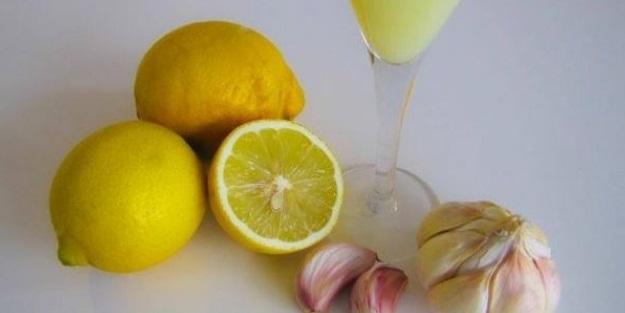 Limon suyuna sarımsak katın! İnanılmaz
