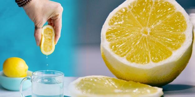 Limonlu suyun faydaları neler? Limonlu su neye iyi gelir?
