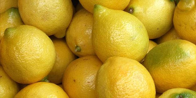 Limonun kabuğunda neler saklı neler!