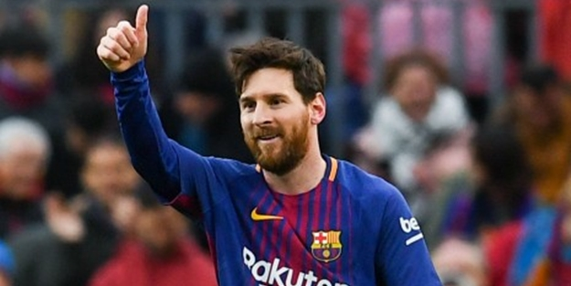 Lionel Messi'den La Liga tarihinde bir ilk!