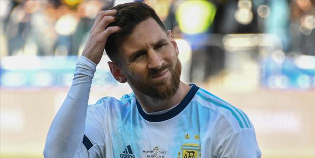 Lionel Messi'ye şok ceza!
