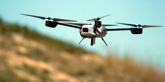 Lise öğrencileri 2 saatte drone yaptı
