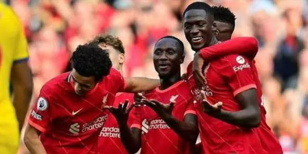 Liverpool Crystal Palace'ı gole boğdu