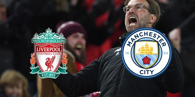Liverpool Manchester City maçı muhtemel 11'leri