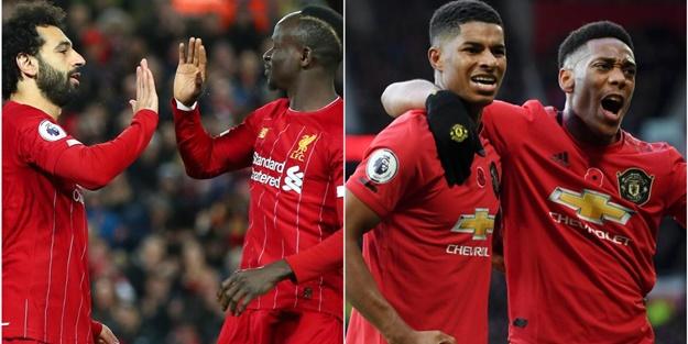 Liverpool Manchester United maçı muhtemel 11'leri