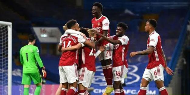 Londra derbisinde gülen Arsenal oldu