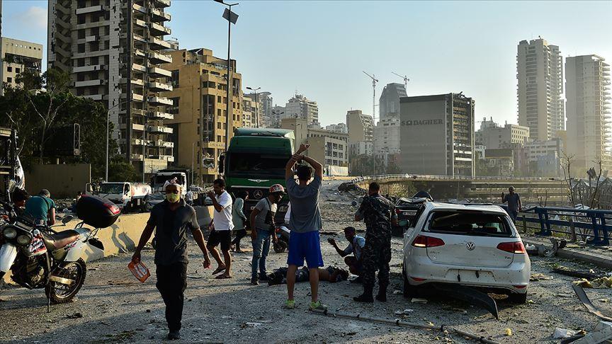Lübnan Meclis Başkanı Elie el-Ferezli Beyrut Liman patlaması için uluslararası komisyon kurulmasına karşı