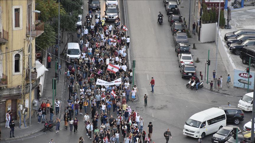 Lübnan'da güvenlik güçleriyle göstericiler arasında gerginlik