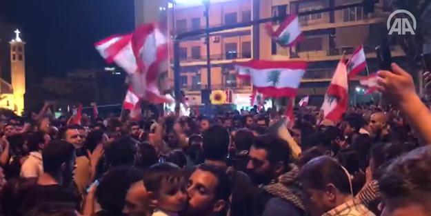 Lübnan'daki gösterilere