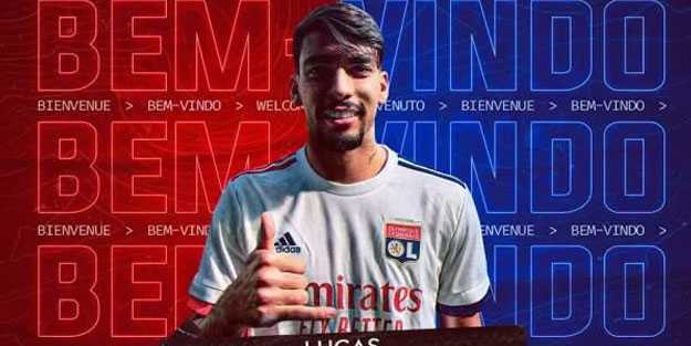 Lucas Paqueta 20 milyon Euro'ya Lyon'da