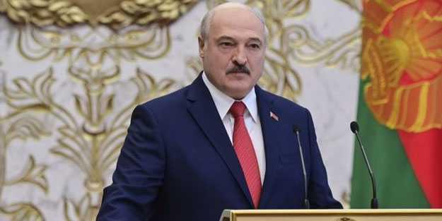 Lukaşenko'dan Macron'a cevap