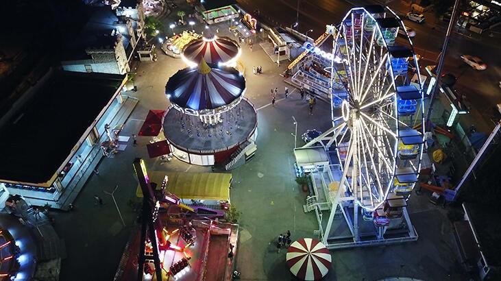 Lunapark ve tematik parklar 4 ay sonra yeniden açıldı