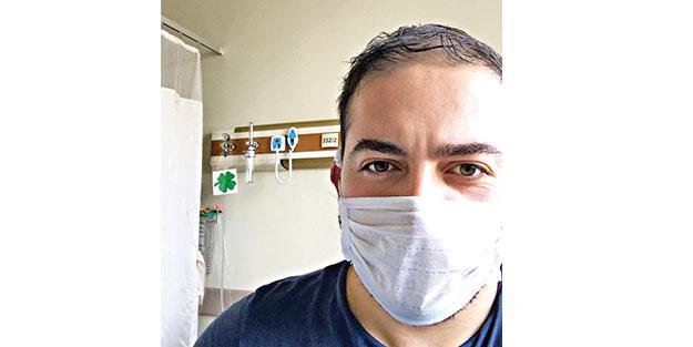 Virüsü yenen Emre yaşadıklarını Akit'e anlattı: