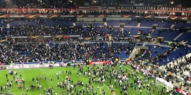 Lyon-Beşiktaş maçı öncesi ortalık karıştı!