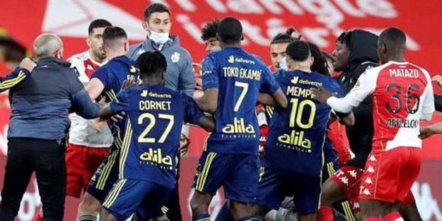 Lyon, Monaco'yu 2 golle geçti