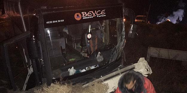 Maça giderken kaza yapan Bursasporlular, dönüşte de kaza yaptı
